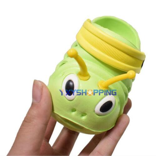 Kids Toddler Cute Caterpillar Cartoon Beach Summer Girl Boy Sandal Slipper Shoes
