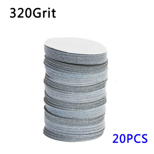 "20pcs 75mm 3"" Sanding Disc 40 to 3000 Mixed Grit Orbital Sander Polishing Pad"