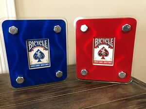 2-Playing-Card-Cases-with-2-Bicycle-Cupid-back-decks-red-and-blue-included