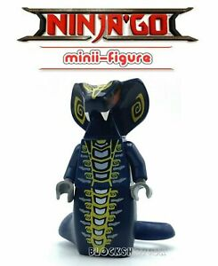 PYTHOR snake lord CHUMSWORTH NINJAGO fits lego figure F15