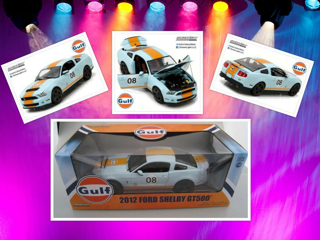 Ford shelby gt500 Gulf-Version 2012 vertlight 1 18 Nouveau
