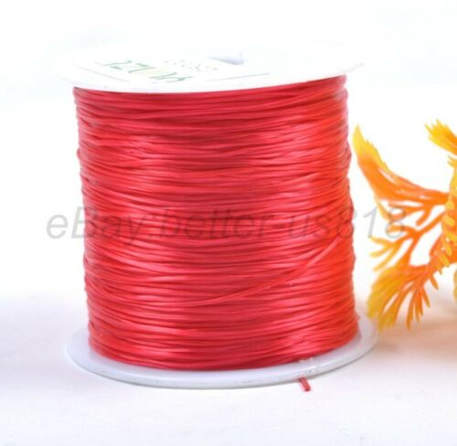 Top Quality STRETCH ELASTIC Beading Cord Thread Wire String 1Roll 60Yards