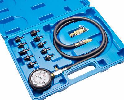 4 tlg.Öldrucktester Set Öldruckmesser Öl Druckprüfer Öldruck Prüfgerät Messgerät