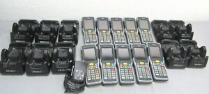 10X-Psion-Teklogix-Neo-PX750-Bluetooth-WiFi-Mobile-Computer-Scanner-Dock