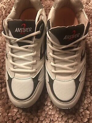 Mens Answer2 Lace Athletic Shoes Size