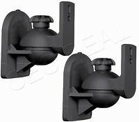 Universal Bose Jewel Cube Speaker Wall Mount Stand Bracket 1 Pair Black Us Ship