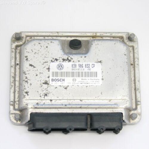 VW LUPO 1.0 ASC moteur unité de contrôle ECU 0261 207 199 03090 6032CP