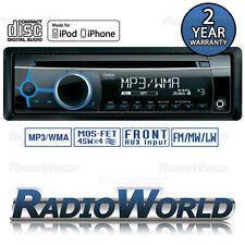 Clarion CZ102E Car Stereo Headunit Radio CD Player MP3 / AUX / iPod / iPhone WMA