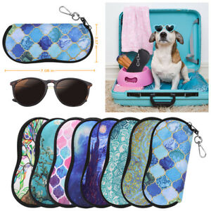 Portable-Eyeglasses-Case-with-Carabiner-Hook-Sunglasses-Sleeve-Soft-Travel-Bag