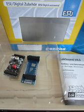 ESU 54399 L Sounddecoder V4 DCC/MOT mfx Stiftleiste+Adapter+Sound (54500 54599)