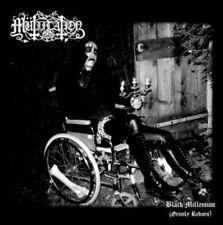Mutiilation - Black Millenium CD 2010 Mütiilation reissue black metal France