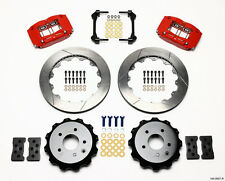 "WILWOOD DISC BRAKE KIT,REAR,FITS 03-13 NISSAN 350Z,370Z,INFINITI G35,G37,13"",RED"