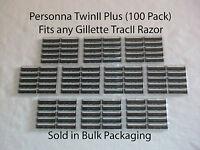 100 Razor Blades That Fit Twins2 (twin Ii) Razor Blade
