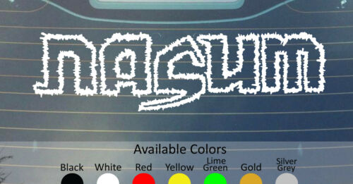 Nasum Vinyl Decal Sticker Custom Taille//couleur