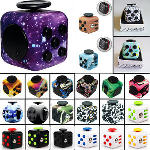 Image Is Loading Retro Camo Pattern Stress Relief Focus Fidget Cube