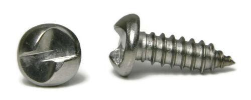 Sécurité Vis Acier Inoxydable 18-8 One Way inviolable Feuille vis en métal #10