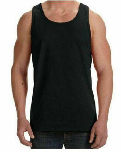 3 Pack Mens Vests 100/% Cotton Summer Gym Training Tank Top S /> 2XL Black White