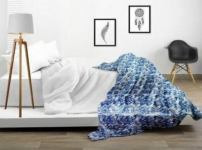 Iceland Odyssey Living Throw Blanket 260GSM polyester microfibre 127W x 152H cm