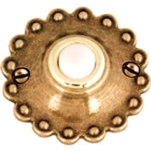 Attrayant Details About Atlas Rustico Doorbell Button Door Hardware Burnished Bronze  Round Decorative