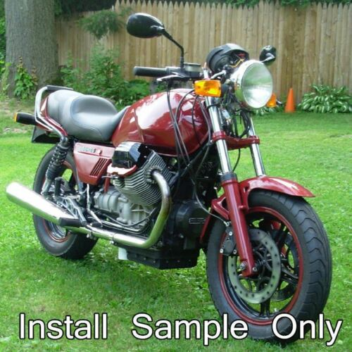 10MM Motorcycle Rearview Side Mirrors 4 Kawasaki Suzuki Cruiser Scooter Black