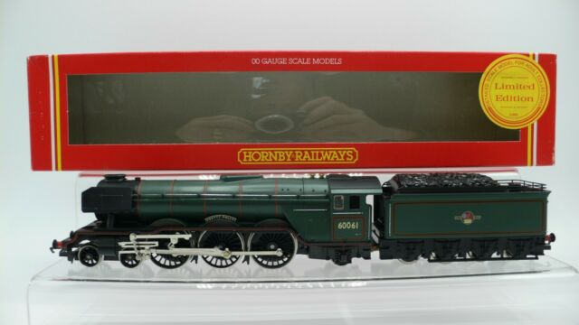 Hornby R059 A3 Class Loco 60061 'Pretty Polly' BR Green GN Tender Ltd Edit NEW
