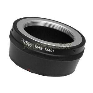 FOTGA-M42-Lens-To-Micro-4-3-m4-3-Adapter-for-G1-G7-GH1-GF1-GF7-EP-1-E-PM2-E-PL7