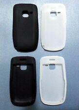 New Silicon case for Nokia C3 -- Black & White, 2 pcs set