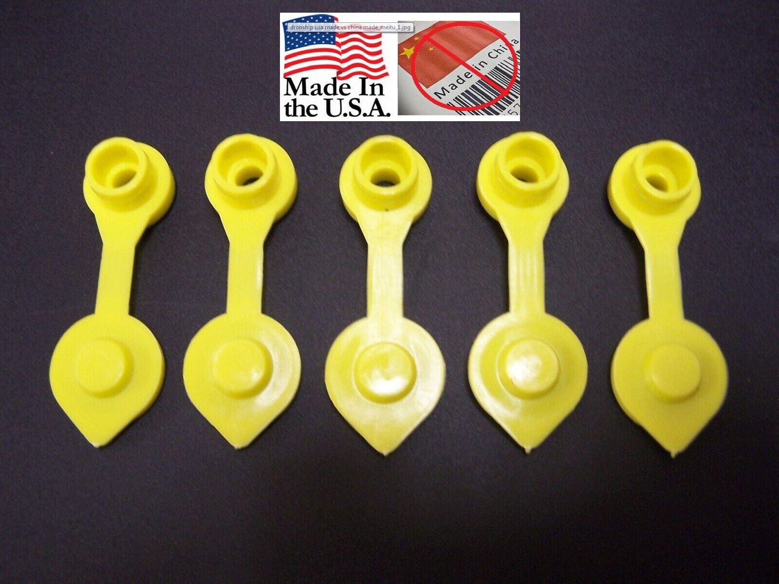 JSP Manufacturing 5 Yellow Fuel Gas Can Jug Vent Cap