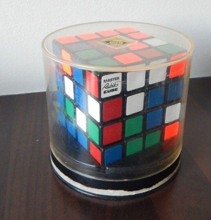 Vintage Ideal Toys 4x4x4 Master Rubik's Cube - Original Box 1981