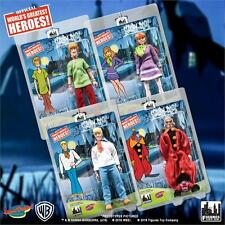 "2016 FIGURES TOY COMPANY SCOOBY-DOO 8"" RETRO MEGO 4 FIGURE SET SHAGGY FRED D118"