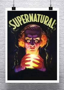 Supernatural-Mysterious-Fortune-Teller-Vintage-Poster-Canvas-Giclee-24x32-in