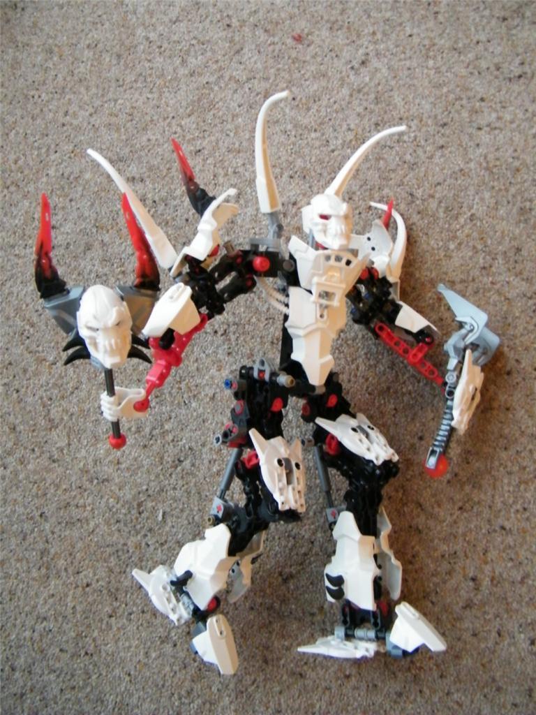 LEGO Hero Factory Stregone Set 2283 cifra ASSEMBLATO  COMPLETO Bionicle  l'intera rete più bassa