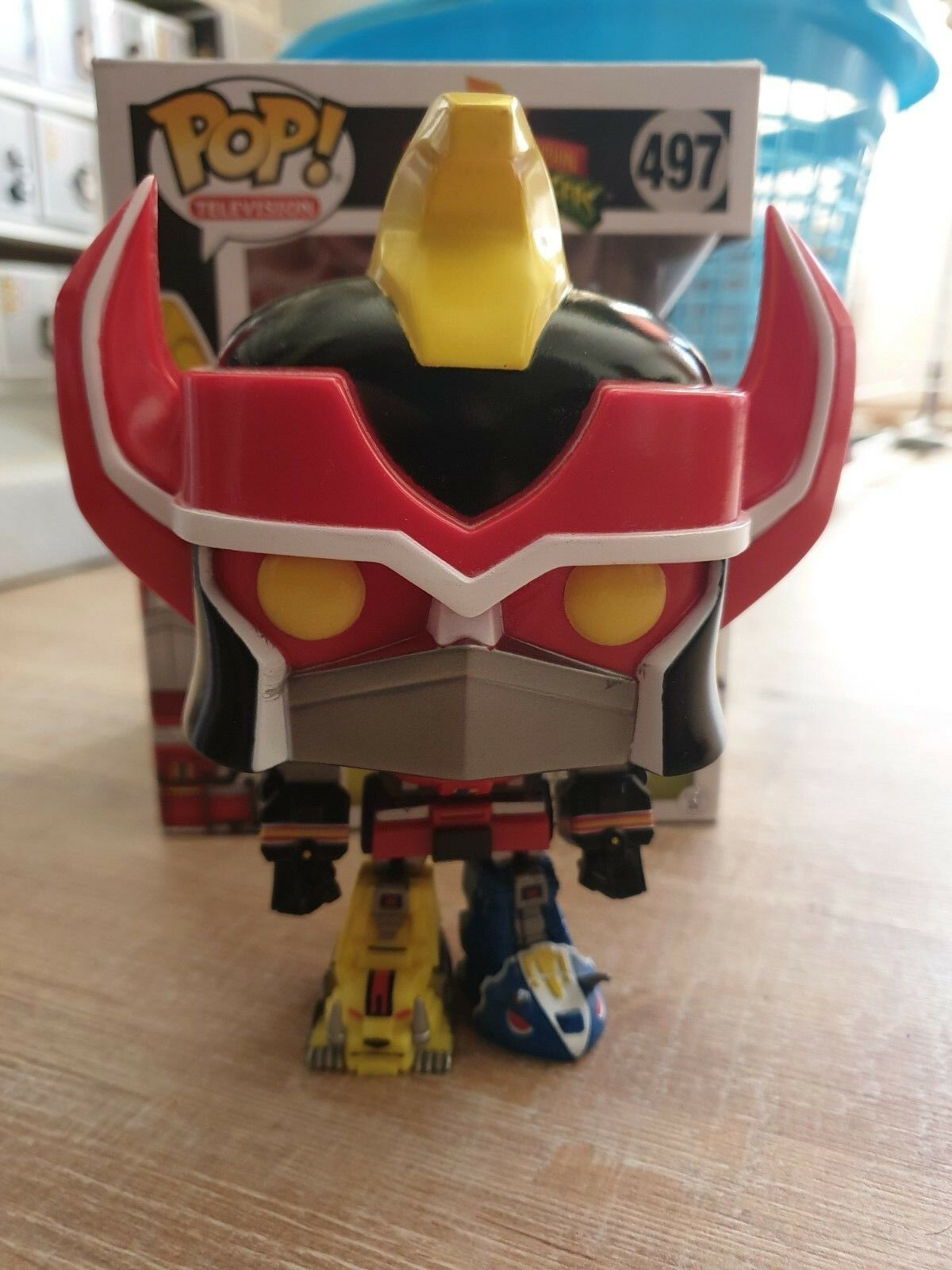 divertimentoko Pop  energia Rangers 497 Megazord SDCC 2017 Exclusive