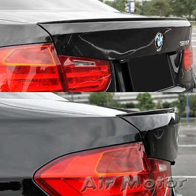 Painted F80 M3 Look Tail Wing Spoiler Lip Fit BMW F30 320i 328i 335i Sedan 2012