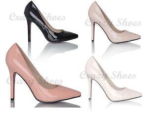 e2b880a0f1188 Caricamento dell immagine in corso scarpe-donna-decollete-decolte-punta- tacco-alto-suoletta-