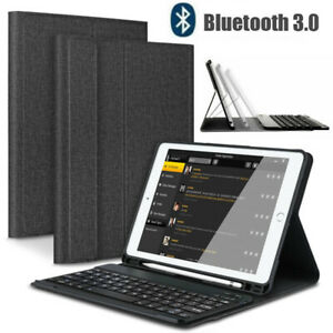 Smart Case and Bluetooth Keyboard Cover For iPad 6th Gen 2018(Model:A1822 A1823)