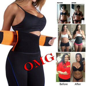78e327f3c HOT Women s Waist Cincher Trainer Girdle Corset Gym Workout Sport ...