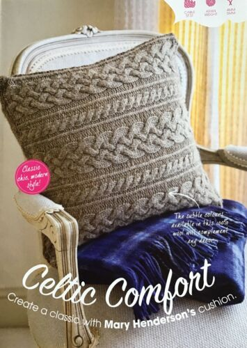 Knitting Pattern for Cable Cushion