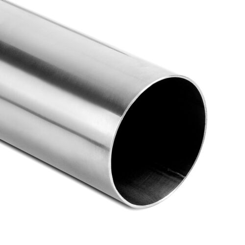 """OD 2.5/""""//3/"""" Inlet Outlet 2FT Exhaust Pipe 45°//90° Degree Tube Stainless Steel"""