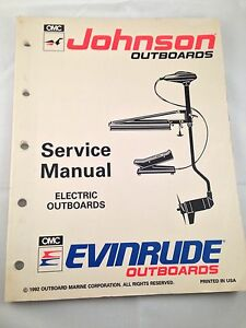 1992 evinrude johnson outboard service repair manual. Black Bedroom Furniture Sets. Home Design Ideas