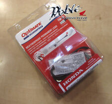 New Optimate Accumate TM71 Battery Charger Weatherproof Permanent Lead