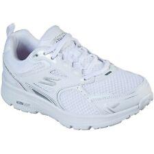 Women/'s Skechers GOrun Consistent Running Shoe White//Silver