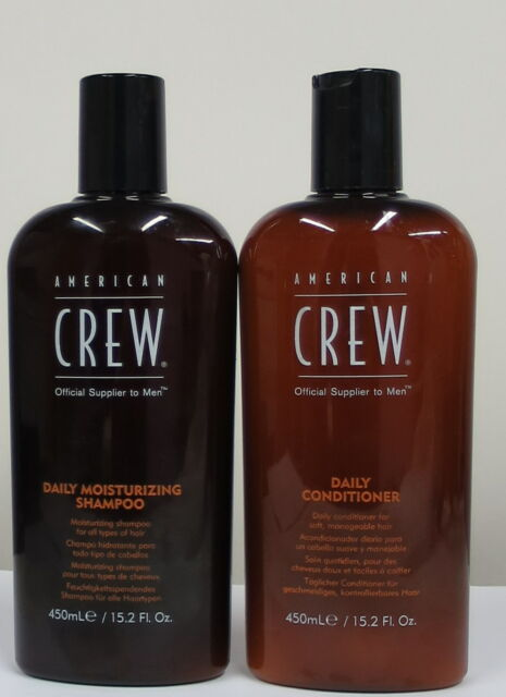 American Crew Daily Moisturizing Shampoo  and Daily Conditioner 15.2oz Duo