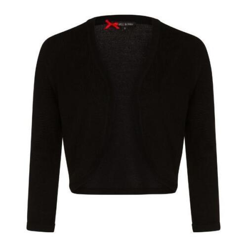 3 Black Stretch 22 Sleeve 4 Bolero Uk 8 Shrug r7wZ6rtqEx