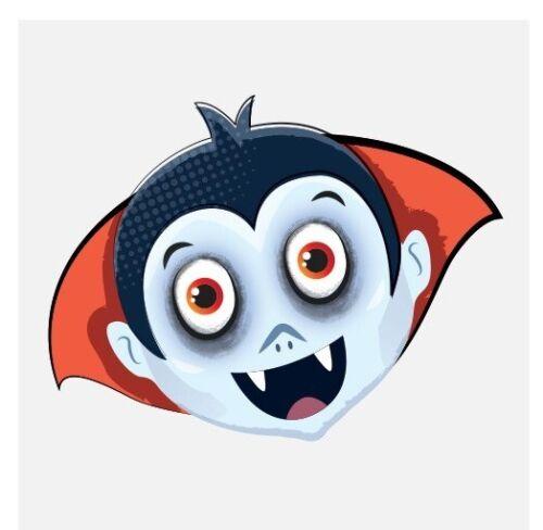 576 x  NEW Spooky Halloween Vampire Pumpkin Bats Kids Pretend Transfers Tattoos