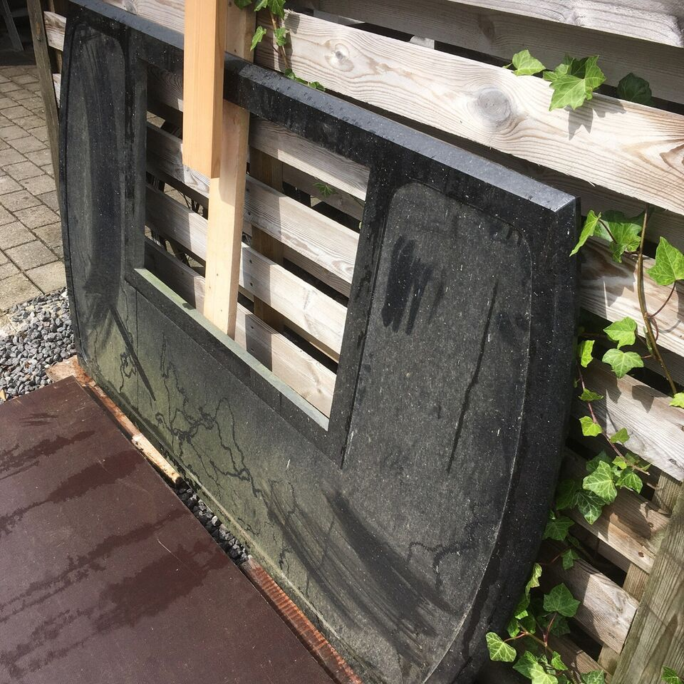 Granit plade