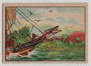Americas Named After Italian Navigator Amerigo Vespucci Vintage Ad Trade Card