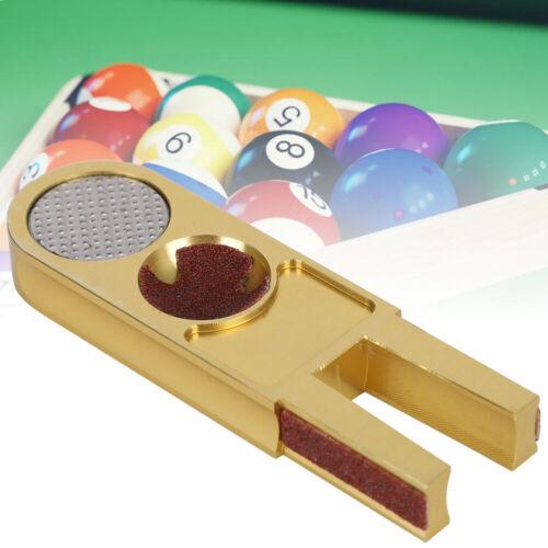Gold Cue Tips Clamp Repair Tool Shaper Billiard Pool Snooker Repair Accessories