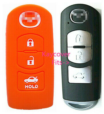 PINK CAR FLIP KEY COVER 3 BUTTON for MAZDA 3 2 6 MPS SP23 CX7 CX9