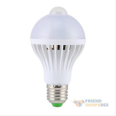 E27 5W/7W/9W PIR Motion Sensor Auto Infrared LED Lamp Light Energy Saving Bulb